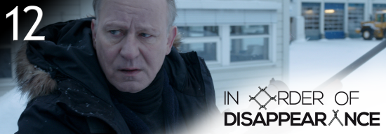 12 In order of disappearance